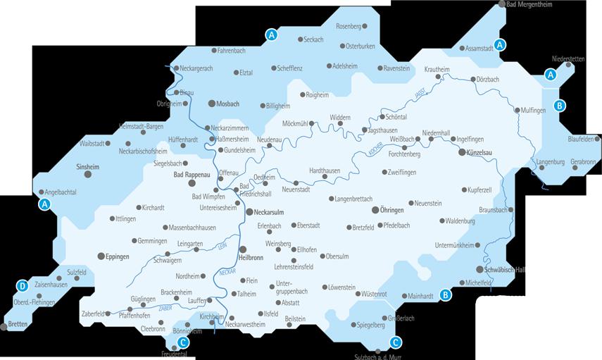 Kvv Gebiet Grenzen