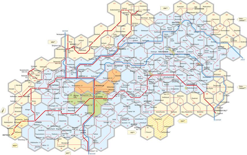 Hvv Karte Zonen.Tarifzonen